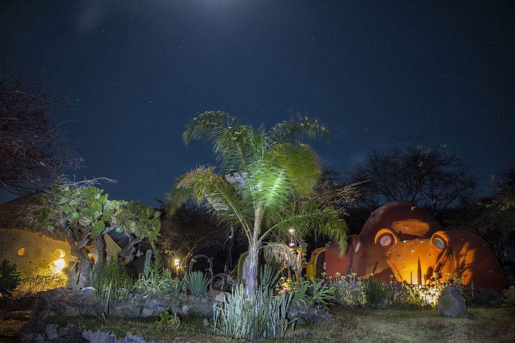 Igloo Kokolo - Vista nocturna