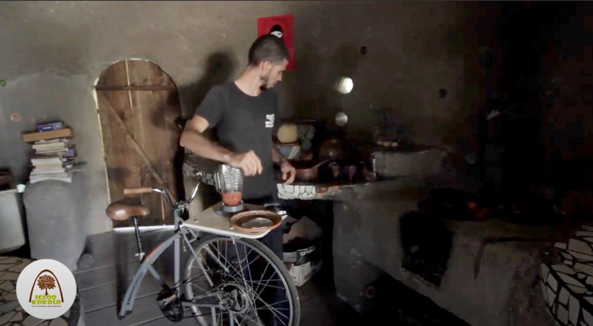 Bici licuadora en Igloo Kokolo